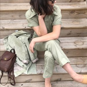1940s vintage women's flight suit